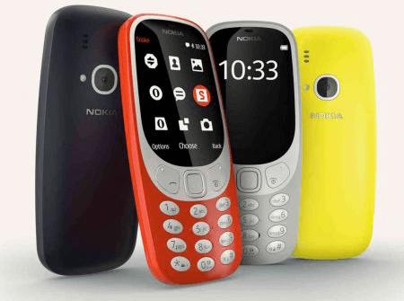 Nokia 3310 Neuauflage 2017